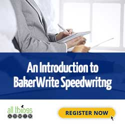 BakerWrite speedwriting
